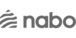 Logo för Nabo som hanterar sina brf-kunders underhållsplaner i Planima.