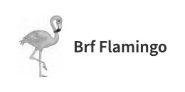 Logo för Brf Flamingo