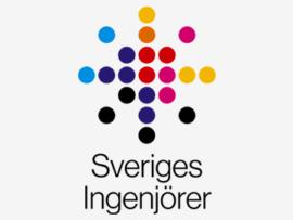 Logotyp för Sveriges Ingenjörer, ny kund i Planima