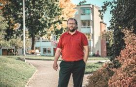 Thomas Bäcklin, ordförande i Brf Toppsockret som har underhållsplan i Planima